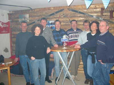 Gründungsmitglieder Skiclub Brenken